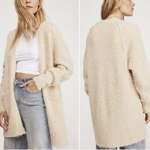 Free People Once In A Lifetime Wool Cardigan XS